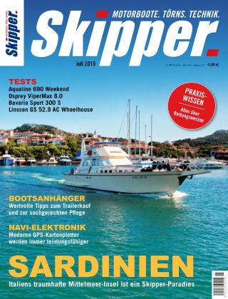 SKIPPER Bootshandel 07/2015