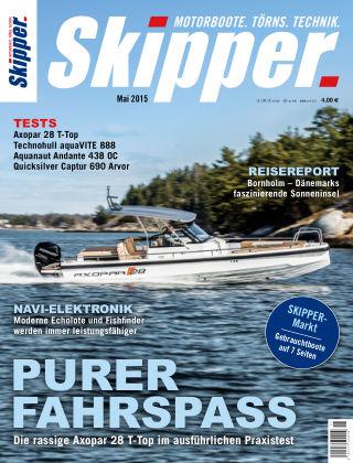 SKIPPER Bootshandel 05/2015