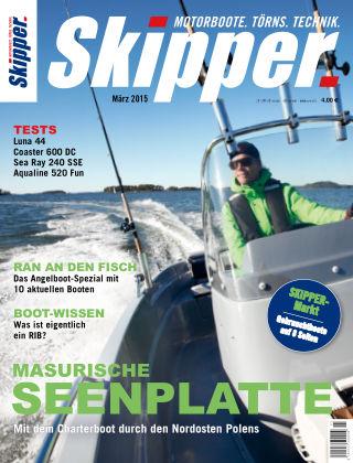 SKIPPER Bootshandel 03/2015