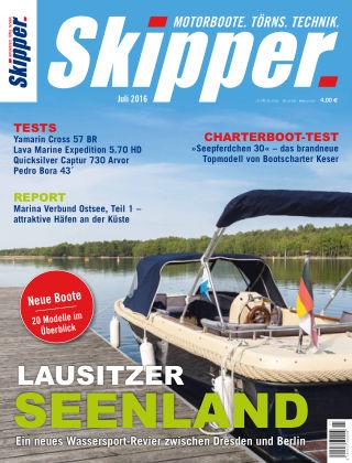 SKIPPER Bootshandel 07/2016