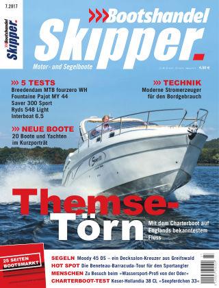 SKIPPER Bootshandel 07/2017