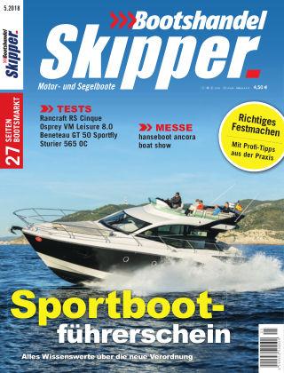SKIPPER Bootshandel 05/2018