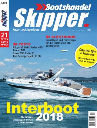 SKIPPER Bootshandel 09/2018