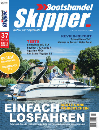 SKIPPER Bootshandel 07/2019
