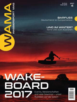 WAMA - Wassersport Mag (eingestellt) 04/2017