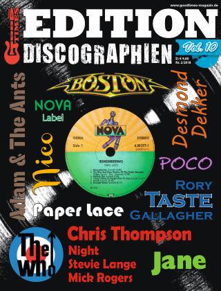 Edition Discographien Vol. 10
