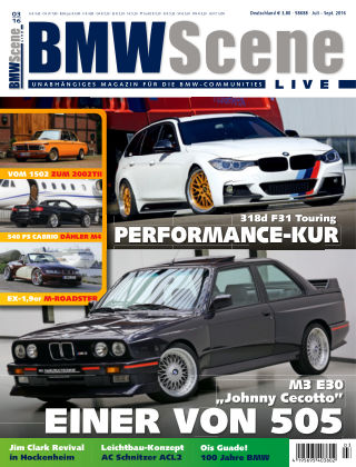 BMW SCENE LIVE 03/2016