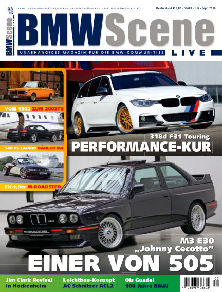 BMW SCENE LIVE May 13, 2016 00:00