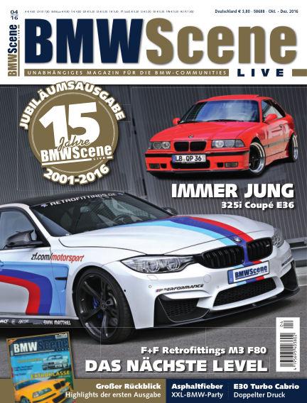BMW SCENE LIVE August 12, 2016 00:00