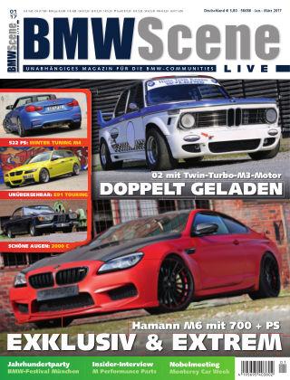 BMW SCENE LIVE 01/2017