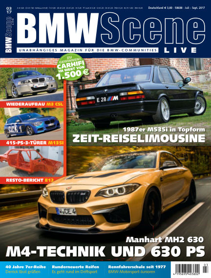 BMW SCENE LIVE April 13, 2017 00:00