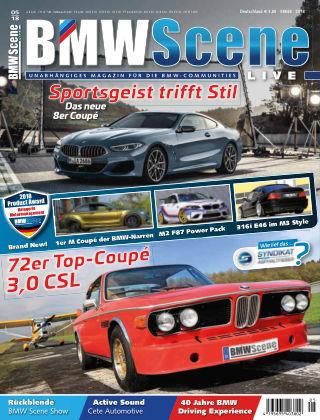 BMW SCENE LIVE 05-2018