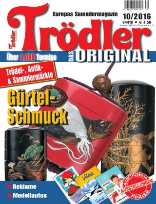 Trödler ORIGINAL 10/2016