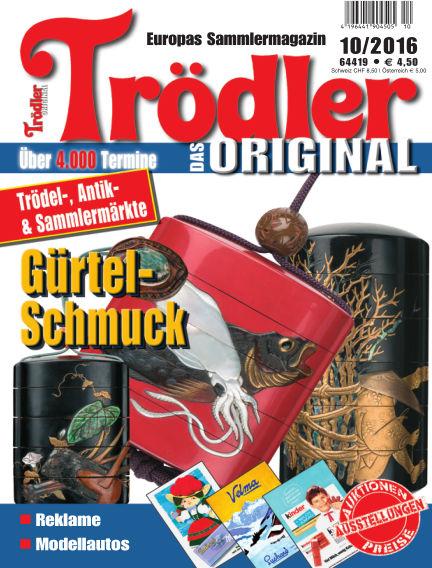 Trödler ORIGINAL September 16, 2016 00:00