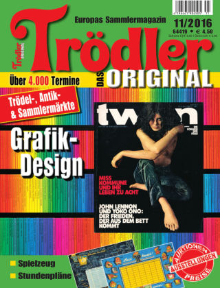 Trödler ORIGINAL 11/2016