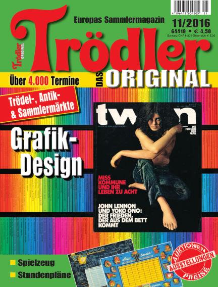 Trödler ORIGINAL October 15, 2016 00:00