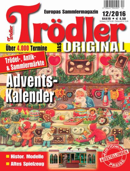 Trödler ORIGINAL November 16, 2016 00:00