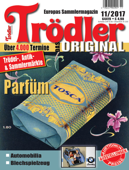 Trödler ORIGINAL October 15, 2017 00:00