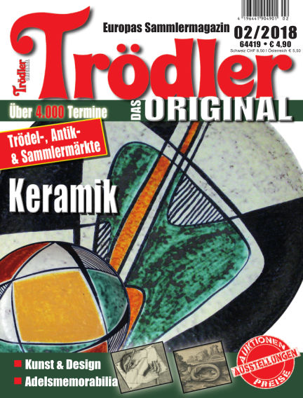 Trödler ORIGINAL January 21, 2018 00:00