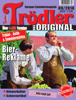 Trödler ORIGINAL 09/2018