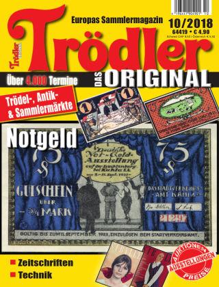 Trödler ORIGINAL 10/2018