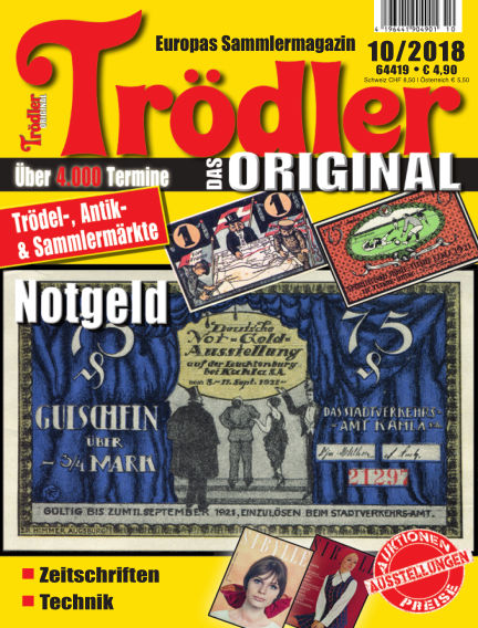 Trödler ORIGINAL September 16, 2018 00:00
