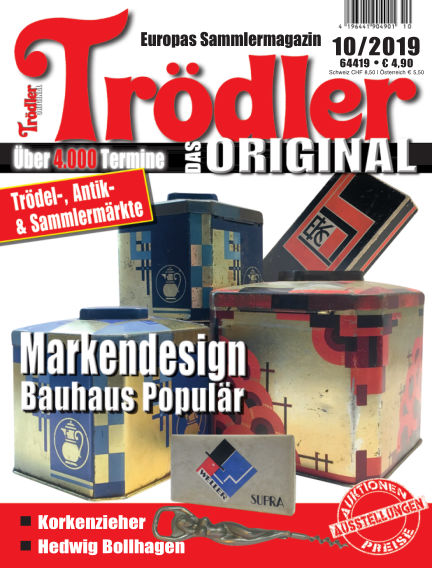 Trödler ORIGINAL September 15, 2019 00:00
