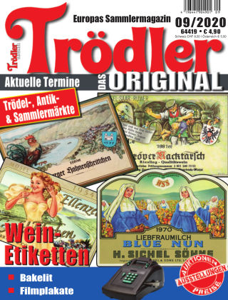 Trödler ORIGINAL 09/2020