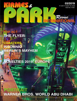 International Kirmes & Park Revue 03/2019