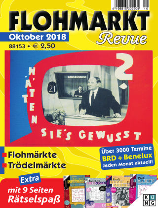 FLOHMARKT Revue 10/2018
