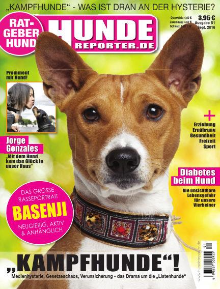 Hunde-Reporter August 26, 2016 00:00