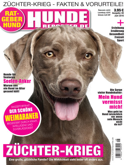 Hunde-Reporter May 29, 2016 00:00