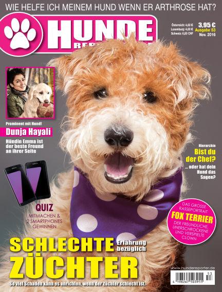 Hunde-Reporter November 01, 2016 00:00