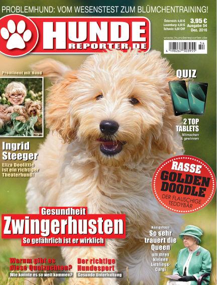 Hunde-Reporter November 29, 2016 00:00