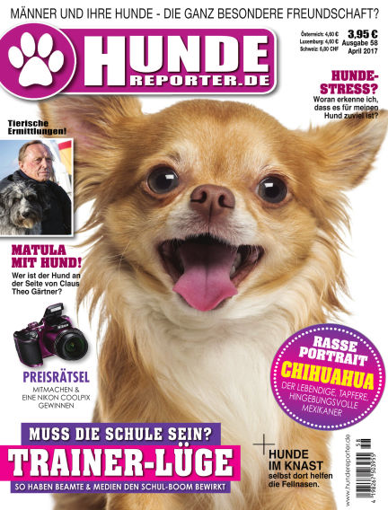 Hunde-Reporter March 31, 2017 00:00