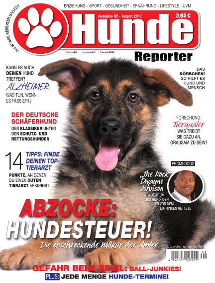 Hunde-Reporter July 28, 2017 00:00