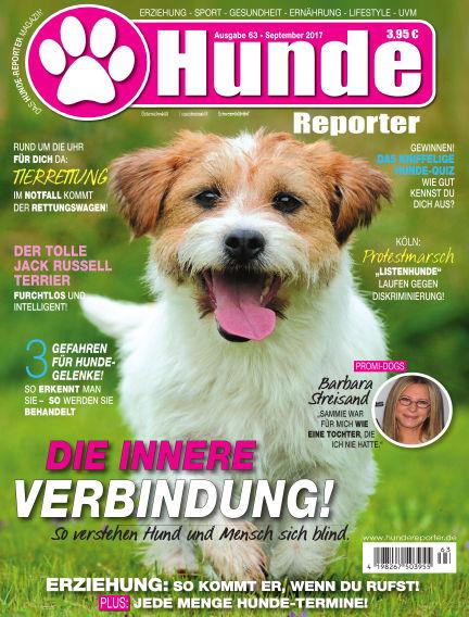 Hunde-Reporter August 25, 2017 00:00