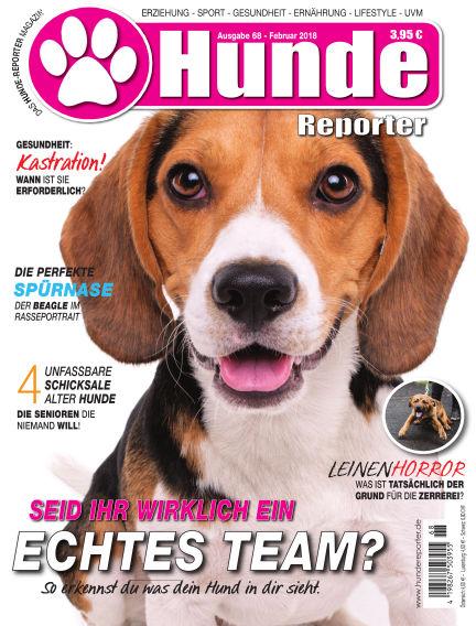 Hunde-Reporter January 26, 2018 00:00