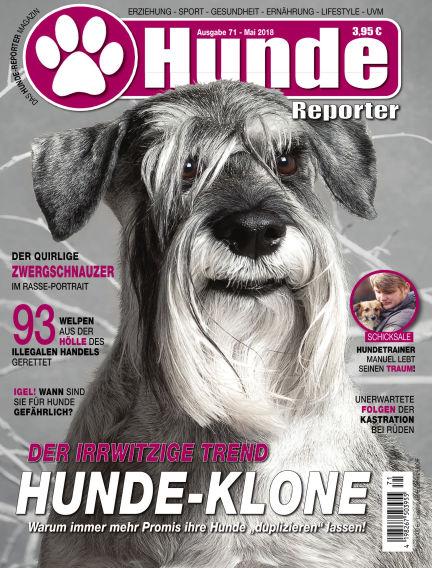 Hunde-Reporter April 27, 2018 00:00