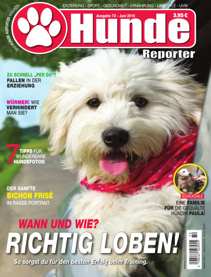 Hunde-Reporter May 25, 2018 00:00