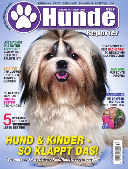 Hunde-Reporter July 27, 2018 00:00