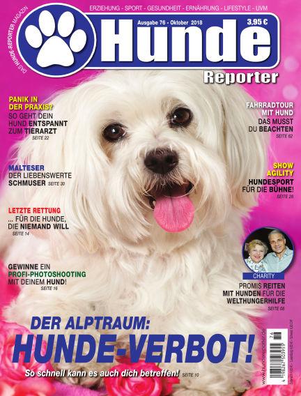 Hunde-Reporter September 28, 2018 00:00