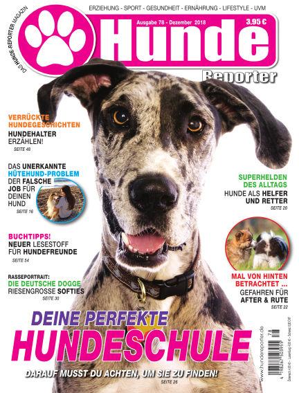 Hunde-Reporter November 30, 2018 00:00