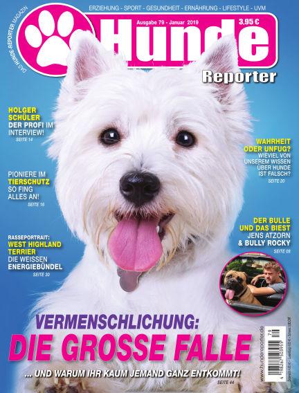 Hunde-Reporter December 28, 2018 00:00