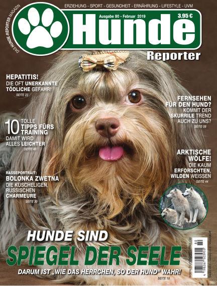 Hunde-Reporter January 25, 2019 00:00