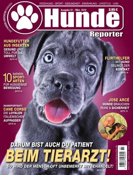 Hunde-Reporter February 22, 2019 00:00