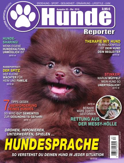 Hunde-Reporter April 26, 2019 00:00
