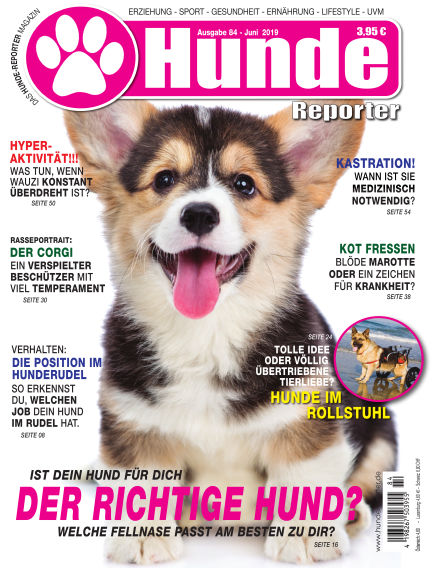 Hunde-Reporter May 31, 2019 00:00