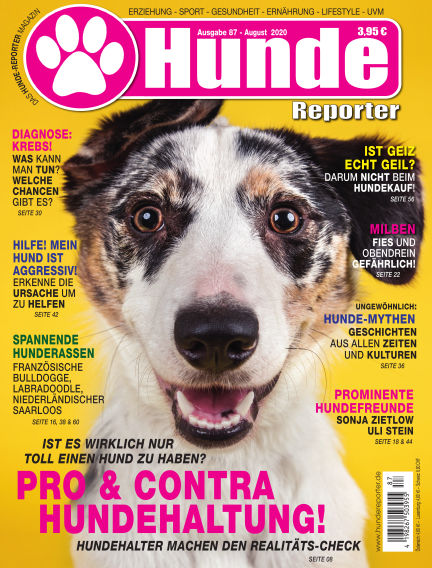 Hunde-Reporter August 30, 2019 00:00