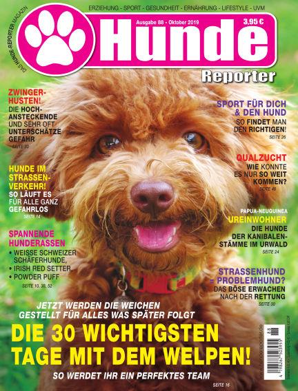 Hunde-Reporter September 27, 2019 00:00
